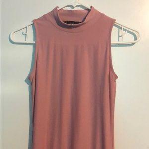 Mid Length Light Pink Dress